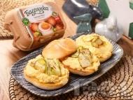 Домашен яйчен пастет със сирене, горчица и с яйца Багрянка
